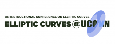 An instructional conference on Elliptic Curves: Elliptic Curves @UConn, Saturday, May 17, 2014.