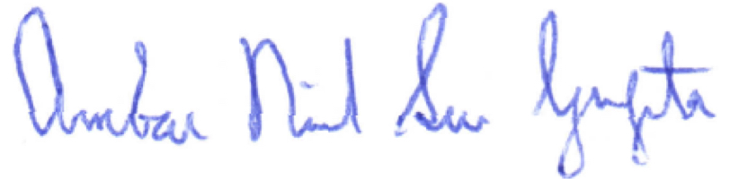 Ambar Signature